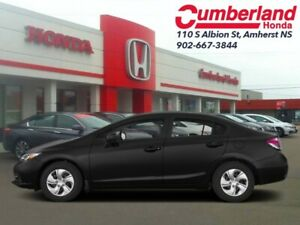 2013 Honda Civic Sedan LX  - Bluetooth -  Heated Seats