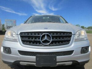 2006 MERCEDES-BENZ M-CLASS 3.5L V6-AWD-NAVI-LEATHER-SUNROOF