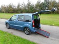 2016 Peugeot Partner Tepee 1.6 Tdi AUTOMATIC 12K Wheelchair Accessible Vehicle