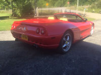 1999 FERRARI F355 F1 SPIDER - PROFESSIONALLY BUILT!