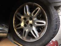Rover 45 / 400 Alloy Wheels and 185 55 15 Tyres