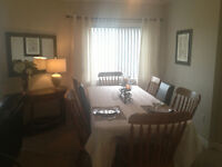 SOLID BIRCH TABLE WITH 8 CHAIRS - HURRY!!!