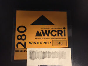 Parking for Student near University of Waterloo at WCRI