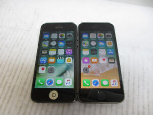 Lot Of 2_Unlocked_iphone 5s/16gb Space Gray_Looking Brand New ++
