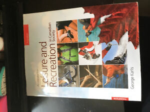 Third Edition- Leisure and Recreation in Canadian Society