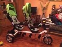 Twins tricycle