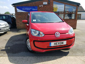 2013 Volkswagen up! 1.0 ( 60ps ) Move Up MANUAL PETROLNEW SERVICE