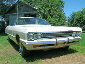 PARTING OUT 1969 CONVERTIBLE PLYMOUTH FURY III  - MOPAR