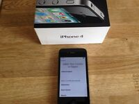 iPhone 4, Black, 16GB **£50**