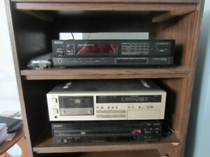 Stereo Receiver/5 Disc DVD Player/Cassette Deck