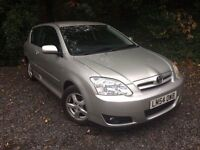 Toyota COROLLA 1.6 3dr Hatchback *HPI Clear* FREE 3-Months Warranty *Lady Owner* CHEAP INSURANCE TAX