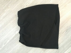 Black Aritzia Mini Skirt