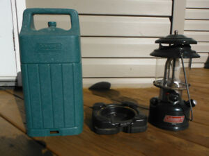 Coleman Easi-Lite Lantern & Plastic Carrying Case