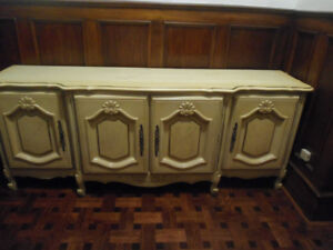 French Antique Vintage Retro Sideboard