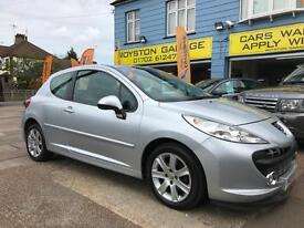 BAD CREDIT CAR FINANCE AVAILABLE 2009 09 PEUGEOT 207 1.6HDi 90 Sport