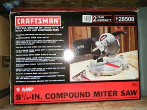 8 1/4 Craftsman Miter Saw