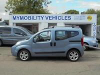 Fiat Qubo Automatic Wheelchair Scooter Accessible WAV 1.3CDTI Car