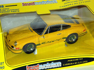 Jouef 1/18 Scale 1973 Porsche 911 Carrera RS 2.7L Diecast Car