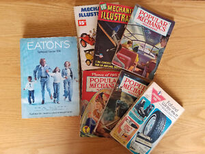 Popular Mechanics Magazines and other Catalogues