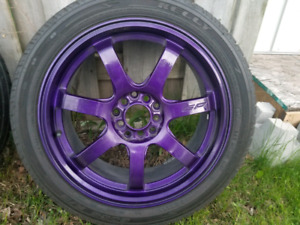 Mint rims and tires !!!