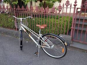 Rad Silver Bicycle. North Melbourne. North Melbourne Melbourne City Preview
