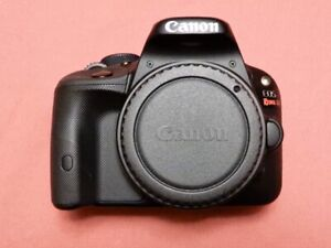 """CANON SL1 / EOS 100D digital camera """"body only"""" good shape used"""