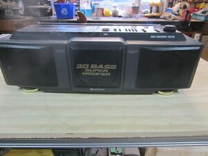HITACHI 3D SUPER WOOFER STEREO