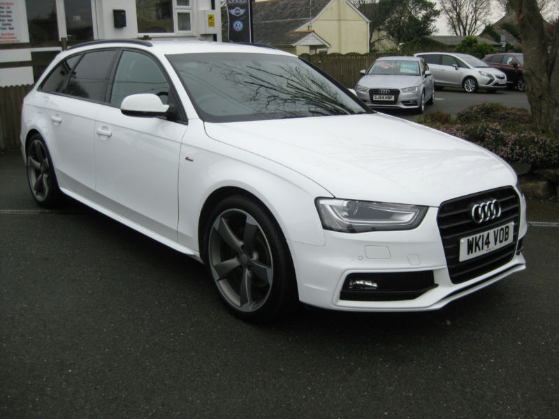 2014 14 audi a4 2 0 tdi 175bhp s line black edition estate. Black Bedroom Furniture Sets. Home Design Ideas