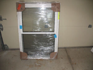 vinyl windows brand new open up and down many sizes Windsor Region Ontario image 1