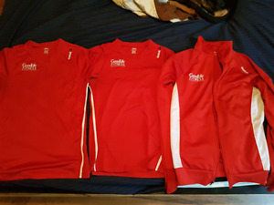 Goodlife personal trainer shirts and sweater