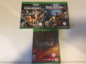 Four Xbox 1 Games - Factory Sealed$30.00
