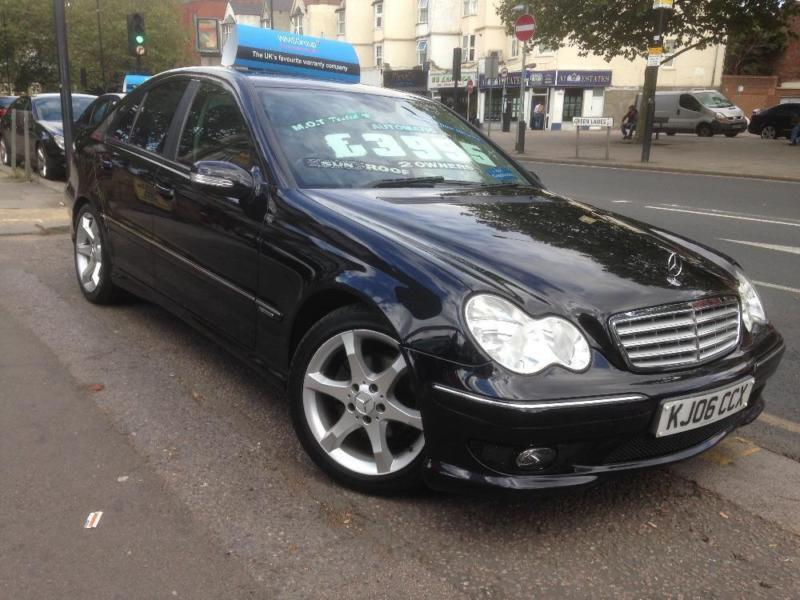2006 mercedes c class c200 kompressor sport edition black auto petrol 4 door in manor house - Mercedes benz garage london ...