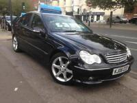 2006 MERCEDES C CLASS C200 KOMPRESSOR SPORT EDITION Black Auto Petrol 4 DOOR