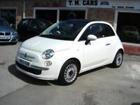 2012 Fiat 500 1.2 ( 69bhp ) LOUNGE 3d ** £20 Tax **