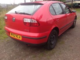 Breaking Seat Leon S 1.4 16v Petrol Manual Red For Spare Parts