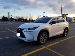 2015 Lexus NX 200t F-Sport with Red Seats. Extremely low km