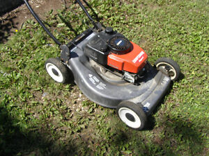 Eager-1 Craftsman Push mower with bagger