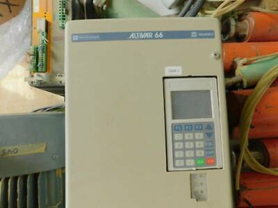 Altivar 66 Ac Drive Atv66d Wkeypad Used See Pictures Time Saver Parts Available