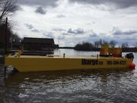 Barge for hire