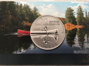 Canoe - Pure Silver Coin Set of 3