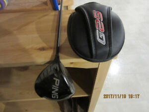 Left Handed PING driver and 3 wood for sale