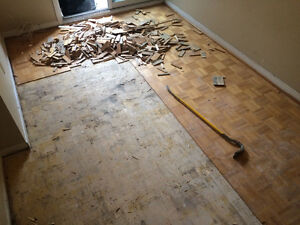 WE ARE THE BEST IN FLOOR REMOVAL! CALL NOW! 289.456.4083 Kitchener / Waterloo Kitchener Area image 8