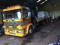 Iveco recovery truck hiab only 12000kms from new!