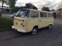 1978 VW Camper - campervan 12 MONTHS MOT
