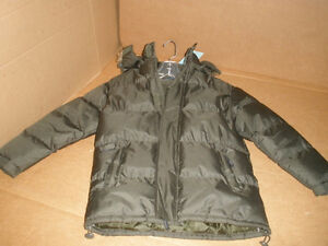 TWISTED WEAR Moss Hooded Coat Size 8/10 London Ontario image 4