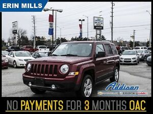 2014 Jeep Patriot Limited   Leather 4WD Mint Condition Local Tra