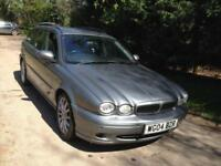 JAGUAR X-TYPE 2.0D SPORT DIESEL ESTATE * LEATHER * FULL SERVICE HISTORY *