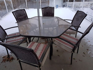 Patio buy or sell patio garden furniture in calgary for Outdoor furniture kijiji