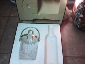 ice bucket in a case over 20 yrs old