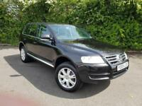 VOLKSWAGEN TOUAREG V6 SPORT BLACK 5 DOOR ESTATE PETROL MANUAL 2005